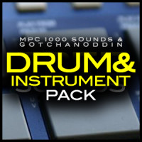 Akai MPC 1000 Samples, mpc1000 drum and instrument pack