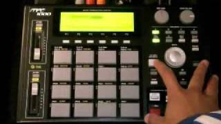MPC1000 -Tutorial - How To Make A Beat