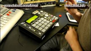 Luvas make a beat on the AKAI MPC-1000, rap - Chico Chico Charlie