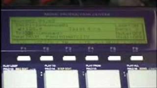 AKAI MPC1000 Yamaha Motif Sync Setting